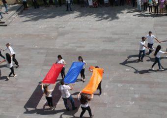 ՀՀ անկախության 26-րդ տարելիցին նվիրված ֆլեշմոբ